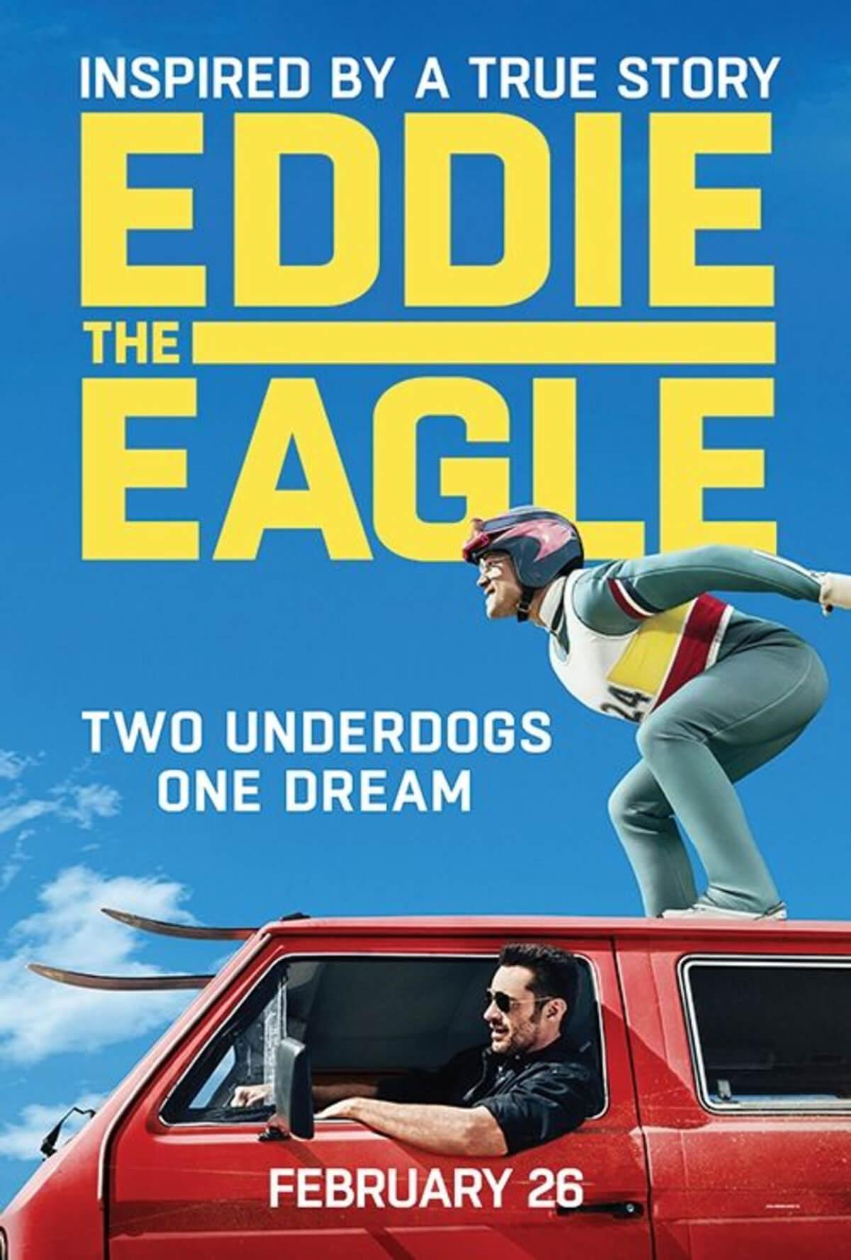 Eddie The Eagle Movie Poster