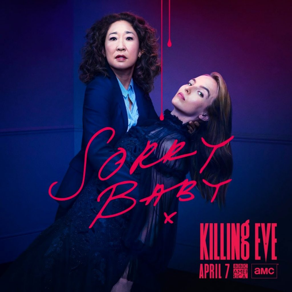 Killing Eve BBC Poster