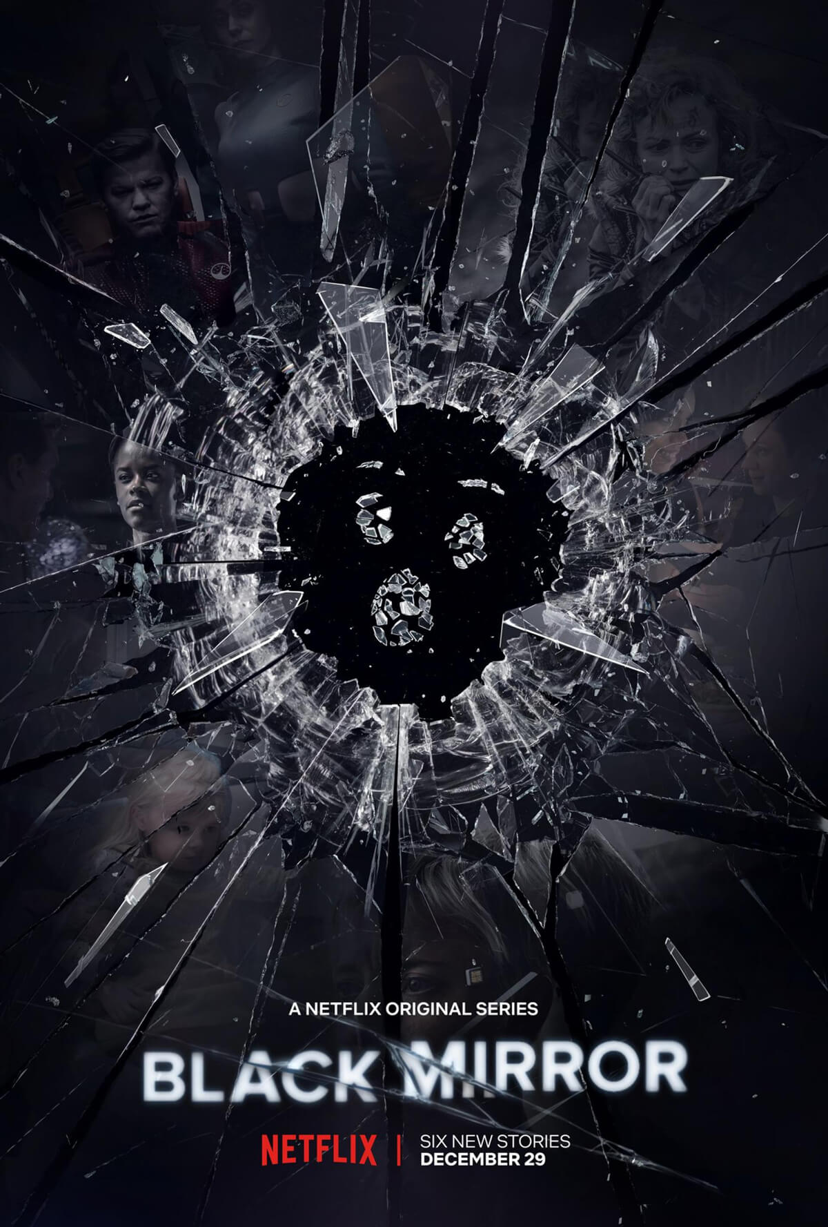 Netflix Black Mirror Season 5 Poster